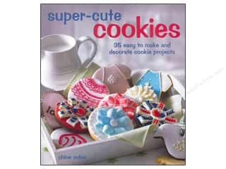 Books & Patterns $9 - $15: Cico Super Cute Cookies Book by Chloe Coker