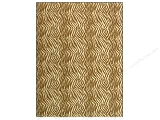"Kunin Felt 9""x 12"" Brown Zebra 24pc"