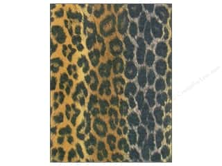 Kid Crafts Brown: Kunin Felt 9 x 12 in. Brown Leopard (24 sheets)