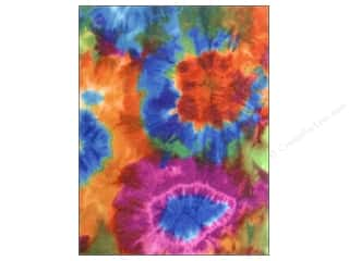 Clearance Blumenthal Favorite Findings: Kunin Felt 9 x 12 in. 60's Tie Dye (24 sheets)