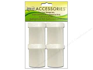 DecoArt Painting Accessories Storage Cups & Lids 2oz 4pc