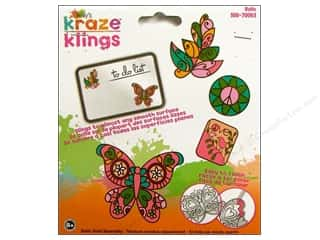 Window Cling: Kelly's Clings Gel BoHo 4pc