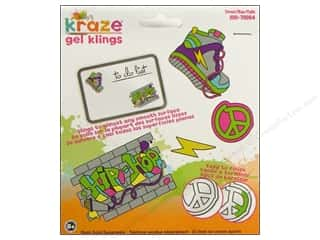 Window Cling: Kelly's Clings Gel Street 4pc