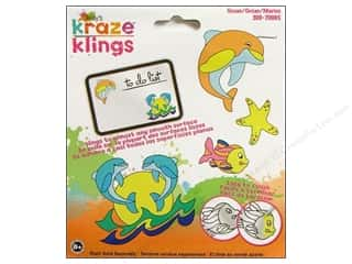 Clearance Kelly's Kraze Clings: Kelly's Clings Gel Ocean 4pc