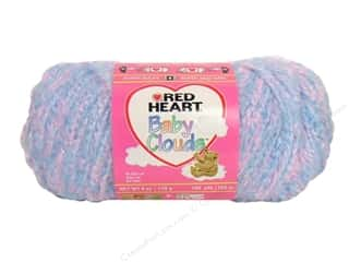 Red Heart Baby Clouds Yarn Cotton Candy 6 oz.