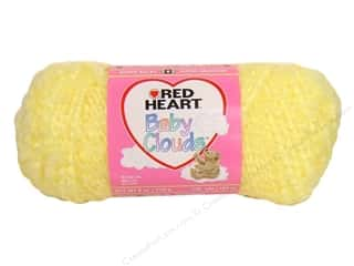 Clearance Red Heart Baby Clouds Yarn: Red Heart Baby Clouds Yarn #9252 Lemon 140 yd.