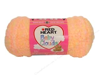 Bulky yarn: Red Heart Baby Clouds Yarn Creamsicle 6 oz.