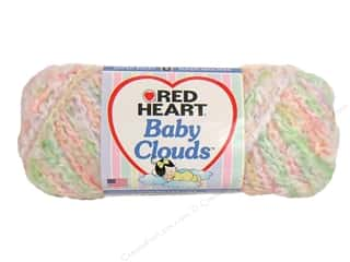 Yarn $4 - $5: Red Heart Baby Clouds Yarn Tutti Frutt 4.5 oz.