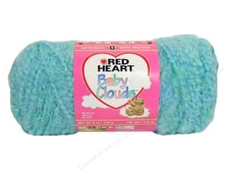 Bulky yarn: Red Heart Baby Clouds Yarn Aquamarine 6 oz.