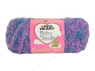 Bulky yarn: Red Heart Baby Clouds Yarn #9533 Peaceful Dreams 105 yd.