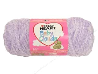 Bulky yarn: Red Heart Baby Clouds Yarn Orchid 6 oz.