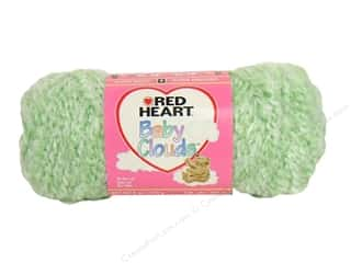 Red Heart Baby Clouds Yarn Serene Green 6 oz.