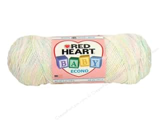 Polyester / Acrylic / Poly Blend Yarns: Red Heart Baby Econo Yarn #1040 Baby Print