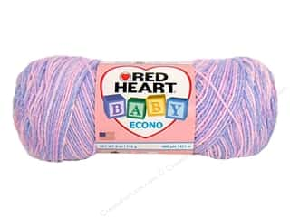 Baby $6 - $10: Red Heart Baby Econo Yarn #1926 Sweet Dreams Multi