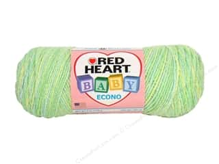 Polyester / Acrylic / Poly Blend Yarns: Red Heart Baby Econo Yarn #1937 Snuggly Multi