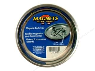 "The Magnet Source Magnet Parts Tray 6"" Stainless"