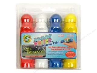 Dab'N Stic Glue School: Crafty Dab Window Writer Window Paint Set Regular