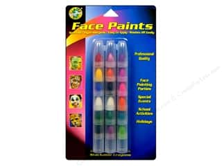 Beeswax Green: Crafty Dab Face Paint Stackable Crayons