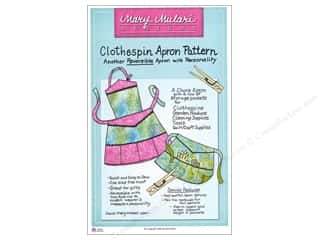 Clearance Blumenthal Favorite Findings: Clothespin Apron Pattern