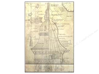 Tim Holtz District Market Matchbook Notepad Blueprint