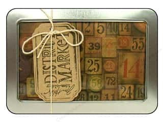 Tim Holtz District Market Notecard Set Collectible