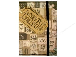 Tim Holtz District Market Spiral Journal Small Numeric