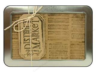 Tim Holtz District Market Notecard Set Merriment
