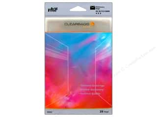 Page Protectors ClearBags Crystal Clear Bag: ClearBags Crystal Clear Bag 4 1/4 x 5 1/2 in. Stationery 25 pc.