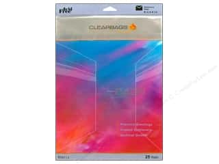 ClearBags Crystal Clear Bag 8.5x11 Stationery 25pc
