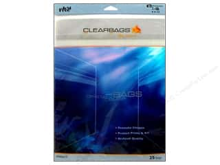 Scrapbooking Clear: ClearBags Crystal Clear Bag 9 x 12 in. Photo 25 pc.