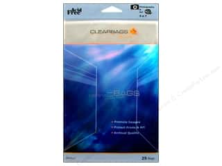 Plastics Clear: ClearBags Crystal Clear Bag 5 x 7 in. Photo 25 pc.
