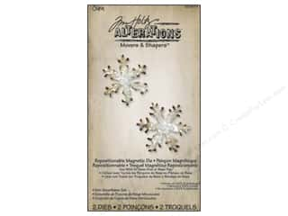 Sizzix Movers & Shapers Magnetic Die Set 2PK Mini Snowflakes