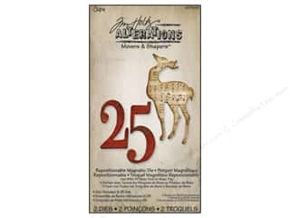 Sizzix Die Tim Holtz Movers Magnetic Mini Reindeer