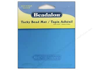 seed beads: Beadalon Bead Mat Tacky 4.25&quot;x 4.25&quot;