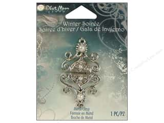Clasps: Blue Moon Clasps WS Fancy Silver