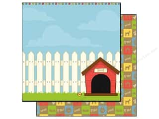 Best Creation Paper 12x12 Puppy Love Dog House (25 sheets)