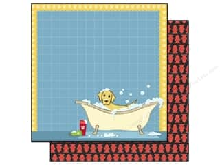 Best Creation Paper 12x12 Puppy Love Puppy Puddles (25 sheets)