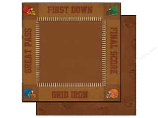 2013 Crafties - Best Adhesive: Best Creation 12 x 12 in. Paper Touchdown First Down (25 sheets)