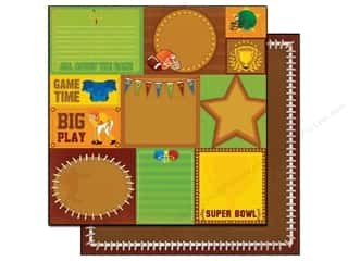 Best Creation 12 x 12 in. Paper Super Bowl Tags (25 sheets)