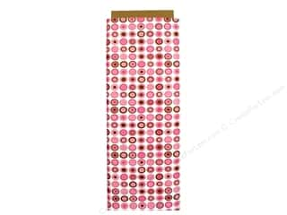 "Babyville Boutique PUL Fabric 64"" Mod Girl Pink Dots"