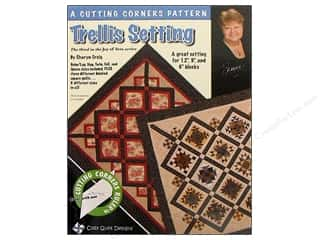 Cozy Quilt Designs Clearance Books: Cozy Quilt Designs Trellis Setting Pattern