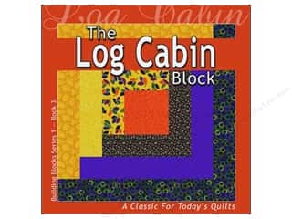 Log Cabin Quilts Family: All American Crafts Series 1-#3 Log Cabin Book