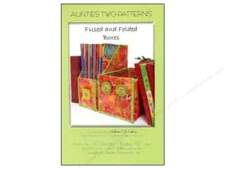 Aunties Two Home Decor: Aunties Two Fused And Folded Boxes Pattern