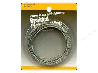 "Hangers 16"": Moore Braided Picture Wire 16 Strand 15'"