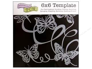 The Crafters Workshop Template 6x6 ButterflyBallet