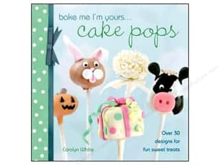 Halloween Books & Patterns: David & Charles Bake Me I'm Yours Cake Pops Book