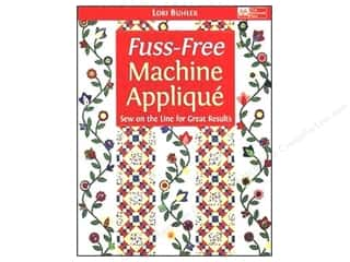 Books $5-$10 Clearance: Fuss Free Machine Applique Book