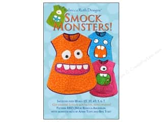 Frogs $4 - $5: Rebecca Ruth Designs Smock Monsters Pattern