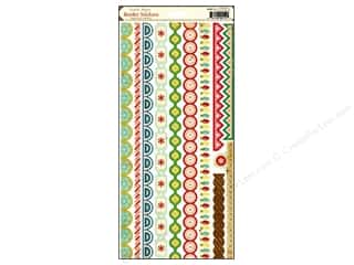 Crate Paper Stickers Peppermint Border
