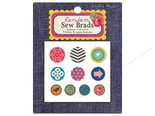 Crate Paper Brads Sew Random